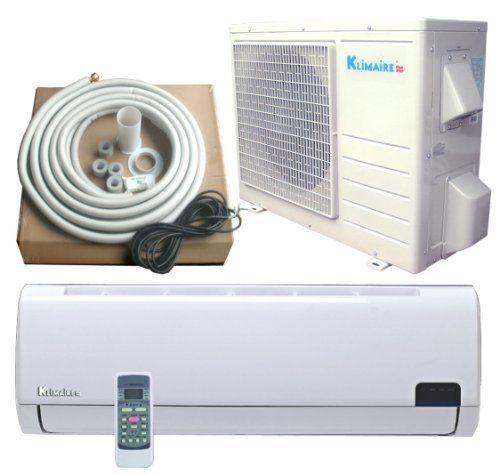 12000 Btu Klimaire Inverter Ductless Mini Split Heat Pump Air Conditioner 16 Seer By Klimaire 933 00 Warranty 1 Years Parts 5 Years Com Pumps Mini Splits