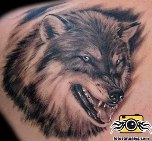 Tatuajes de lobos CARTOON WOLVES \ WOLF TATTOOu0027S Pinterest