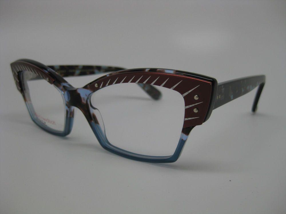 Lafont Majeste Eyeglasses, color 341 Blue, size 52-16-138, Brand NEW