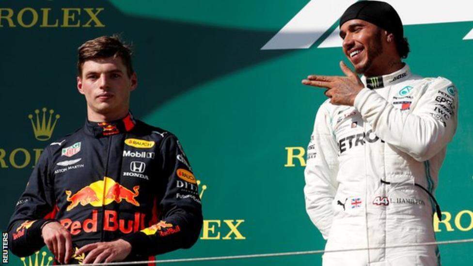 Hamilton V Verstappen Lives Up To Billing Lewis Hamilton Hamilton Max Verstappen