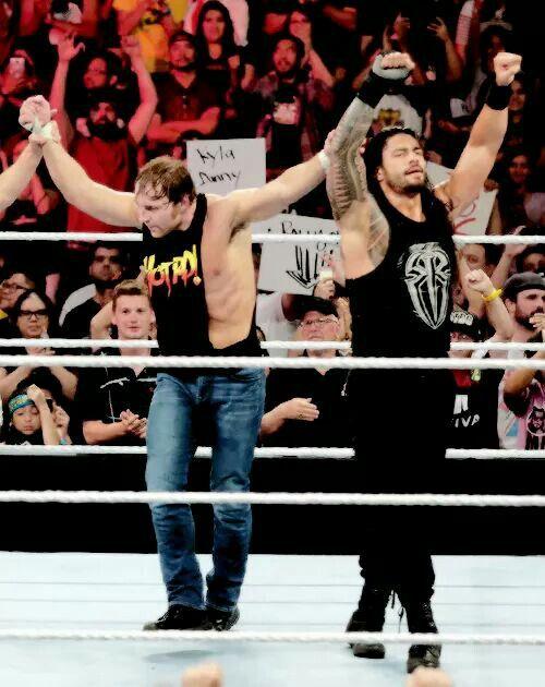 Dean Ambrose & Roman Reigns