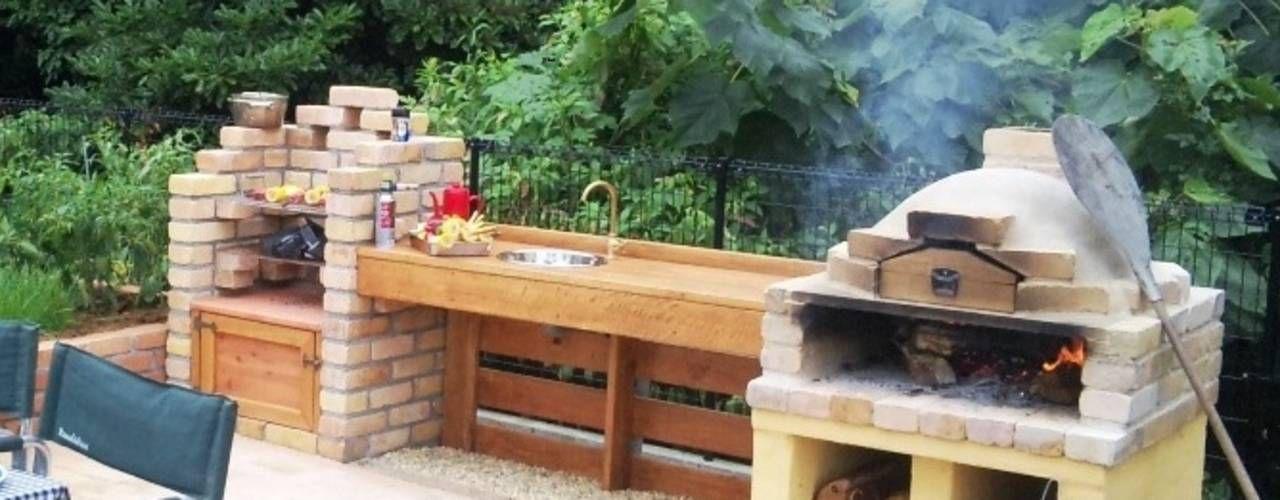6 pasos para construir un asador de ladrillo en tu patio for Asadores de jardin de ladrillo