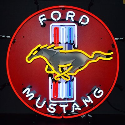 Neonetics Ford Mustang Neon Sign Ford Mustang Classic Cars Ford