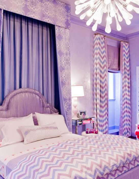 Light Purple Bedrooms Remodelling Best I Chose An Analogous Color Schemethe Purples In This Room Bring . Design Ideas