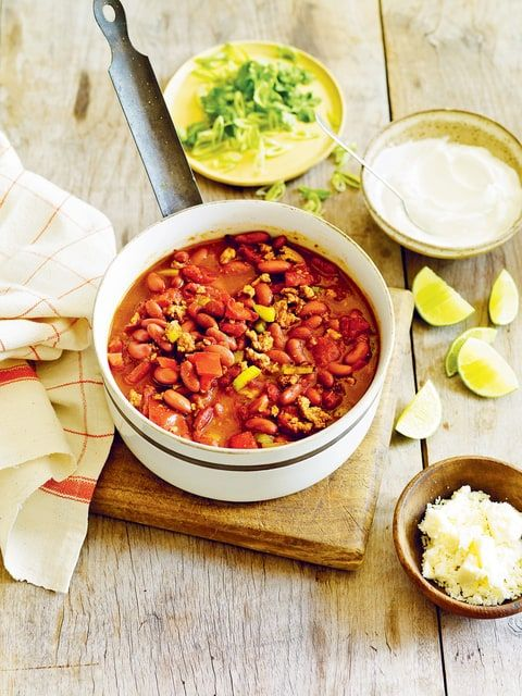 Fire Up Your Super Bowl Party With Oprah S Spicy Chili Recipe Recipes Cooking Recipes Spicy Chili Recipe