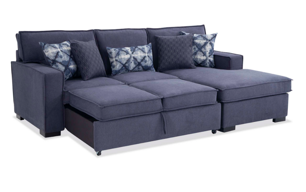 Playscape Denim Left Arm Facing Sectional Sectional Furniture Sectional Sleeper Sofa #richmond #tan #living #room #sectional