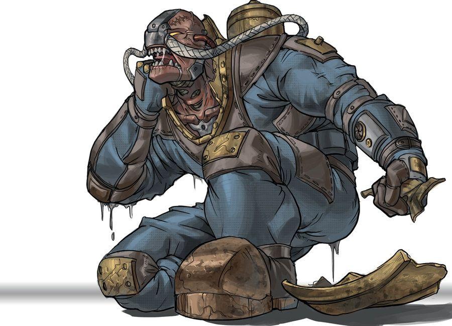 Bioshock 2 Delta Unmasked By Lostro Deviantart Com On