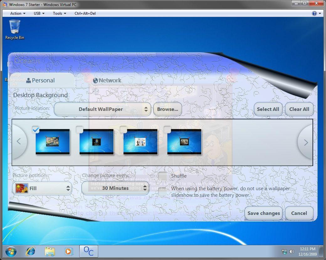 Desktop Background Wallpaper Change In Windows 7 Starter Windows Desktop Wallpapers Backgrounds Wallpaper