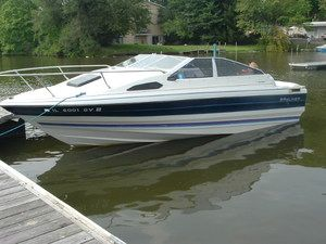 My old 1987 Bayliner Capri  I only knew one speed with this