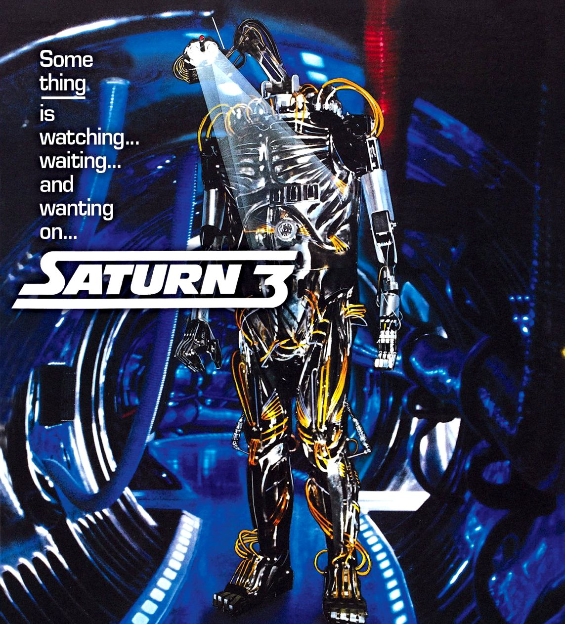 Image result for saturn 3 movie poster