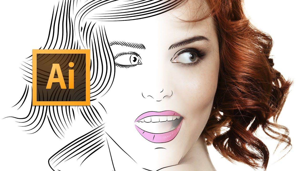 Turn your drawing or logo into a vector hi res image