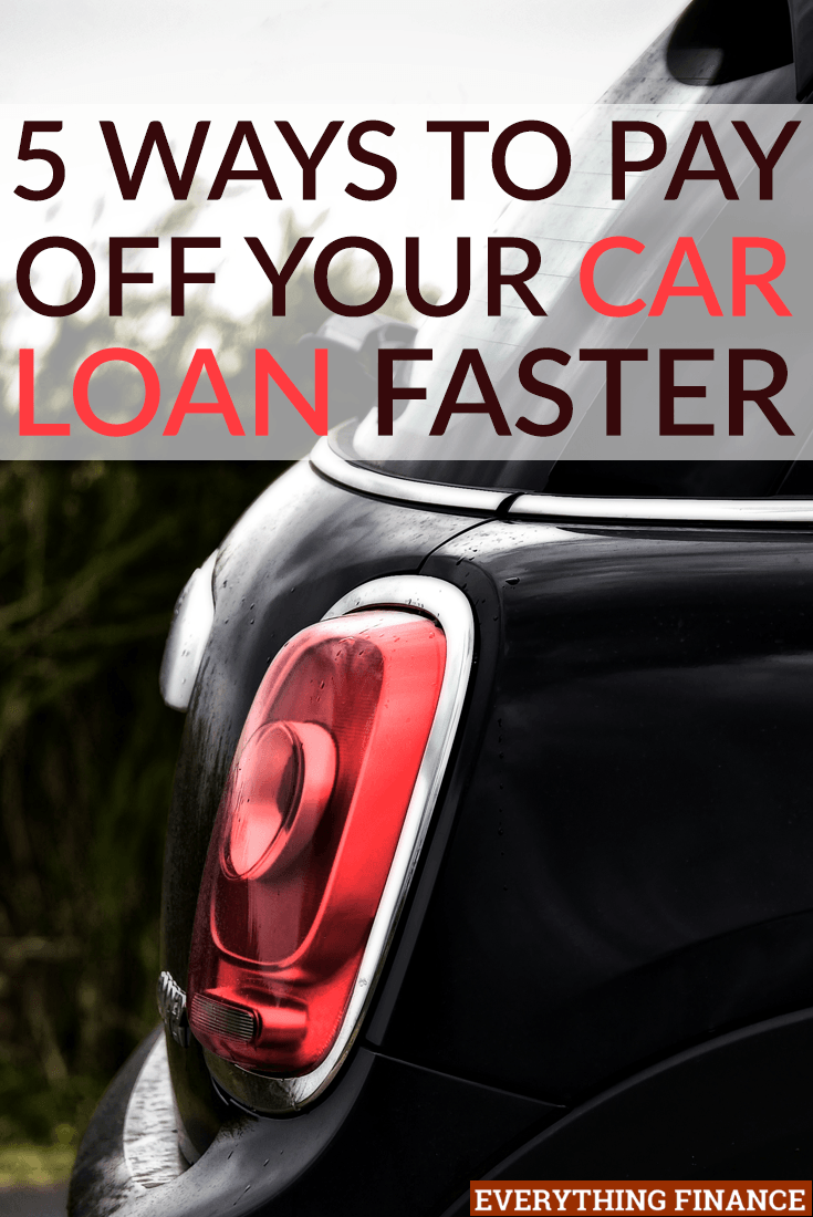 5 Ways To Pay Off Your Car Loan Faster Paying Off Car Loan Car Loans Payday Loans