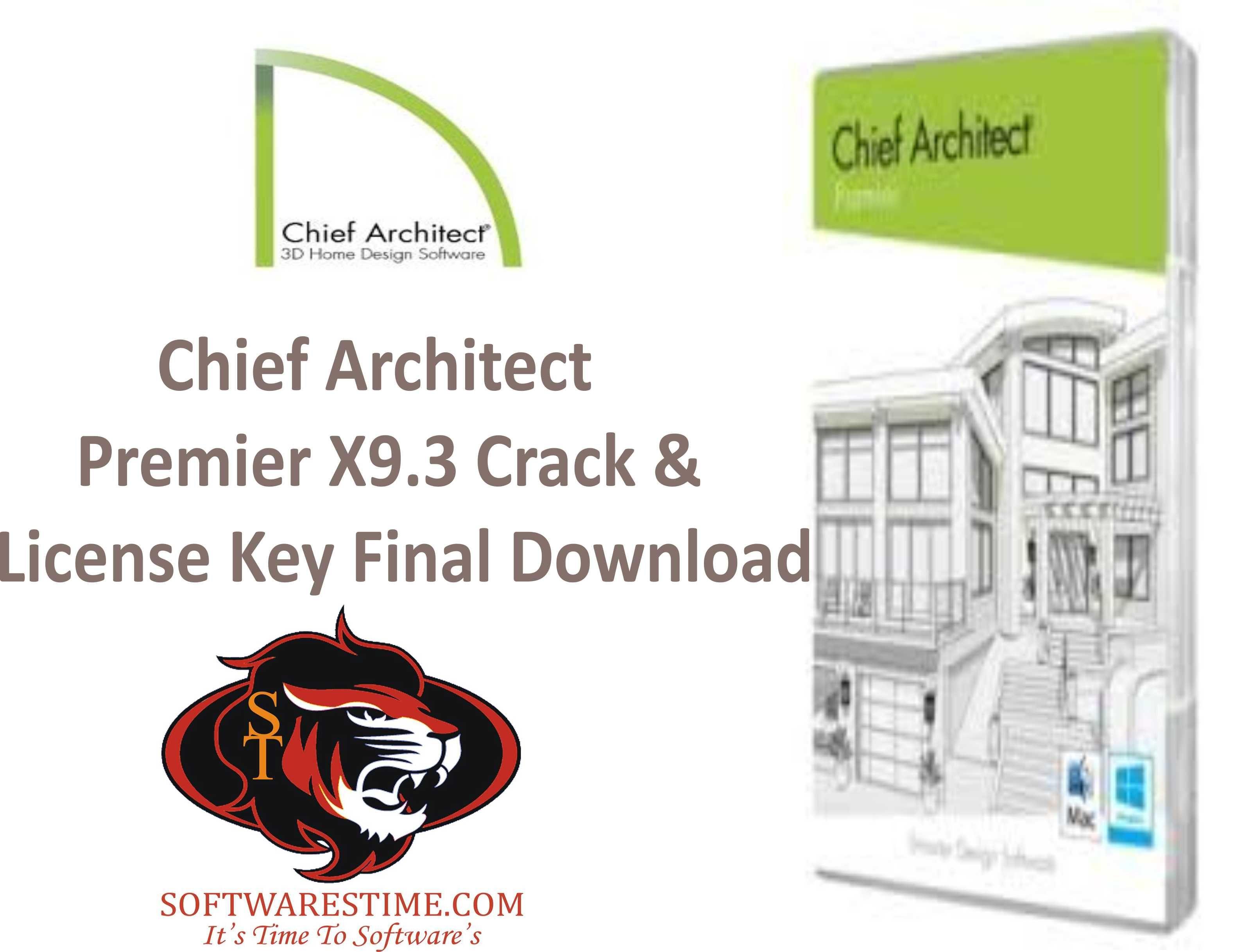 Chief Architect Premier X93 Crack License Key Final