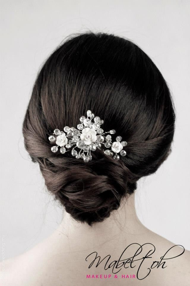 Chinese Modern Not Applicable Hair Stylist Classy Bridal Hairstyle 48851