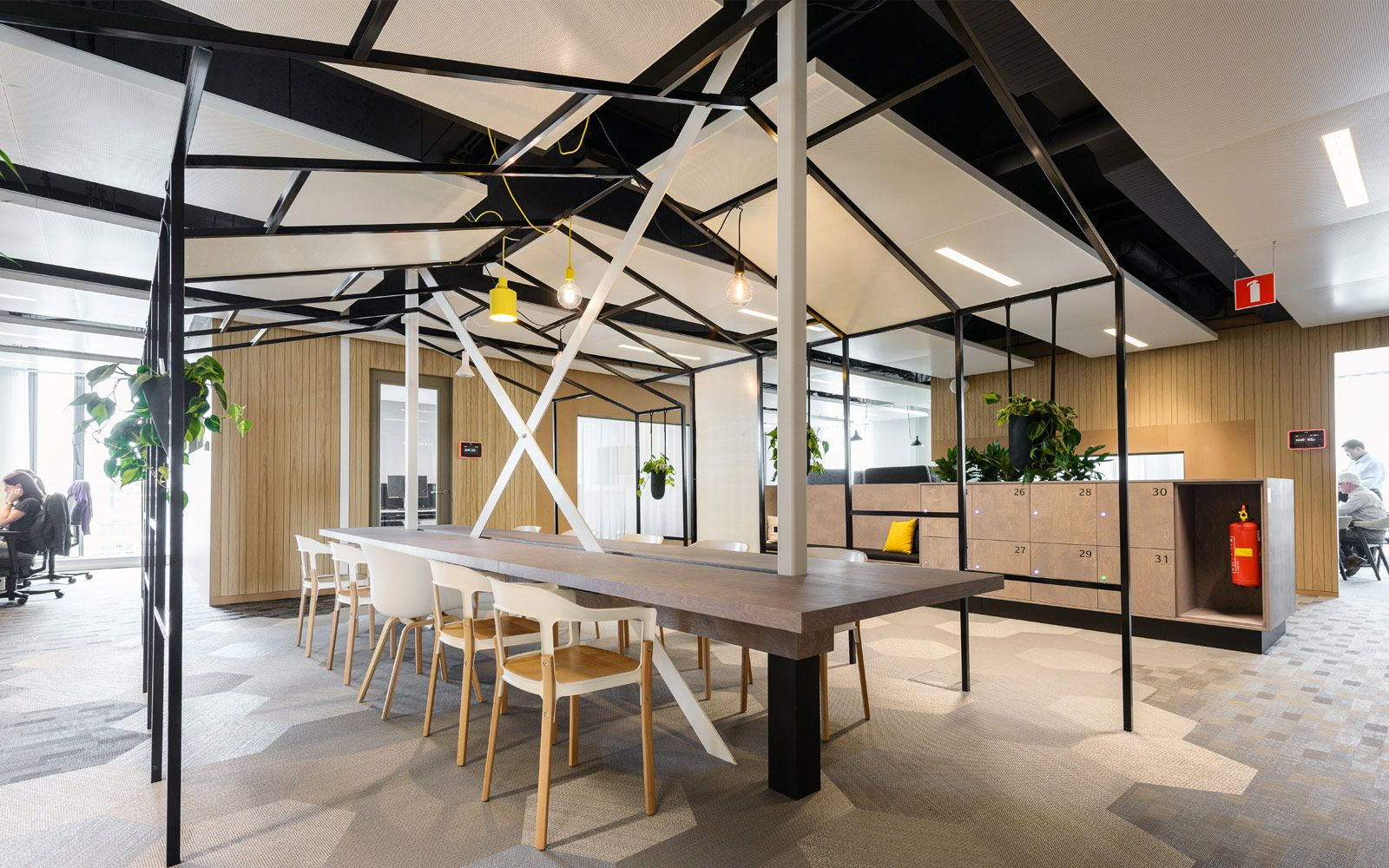 offices at Sabic Europe Manufacturing by Broekbakema