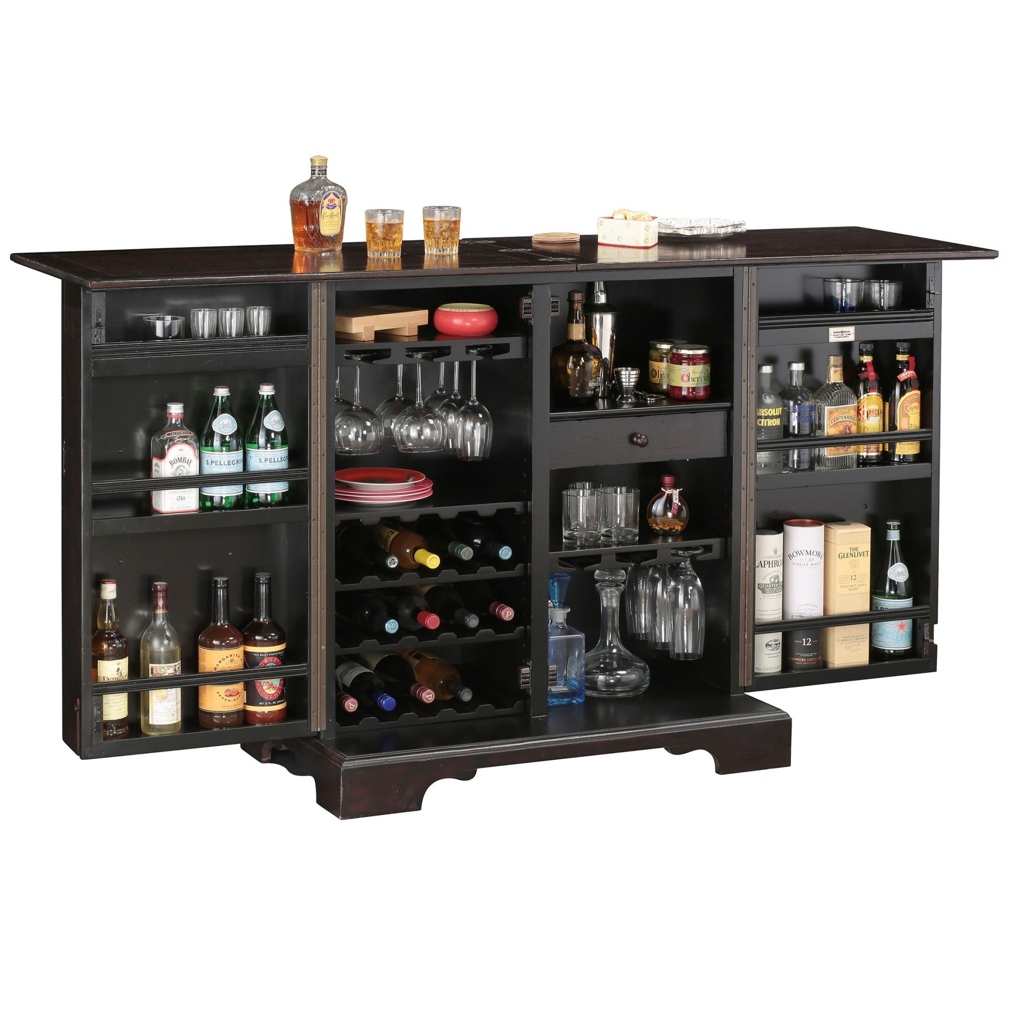 Howard Miller Brunello Console Wine Bar Cabinet 695 160