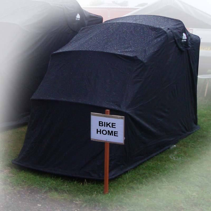 Details About Motorbike Bike Cover Shed Folding Storage
