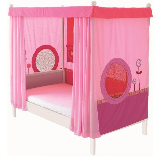 Haba Matti Four Poster Canopy Bed   Pink : LittleDreamers.ie, Nursery  Furniture,