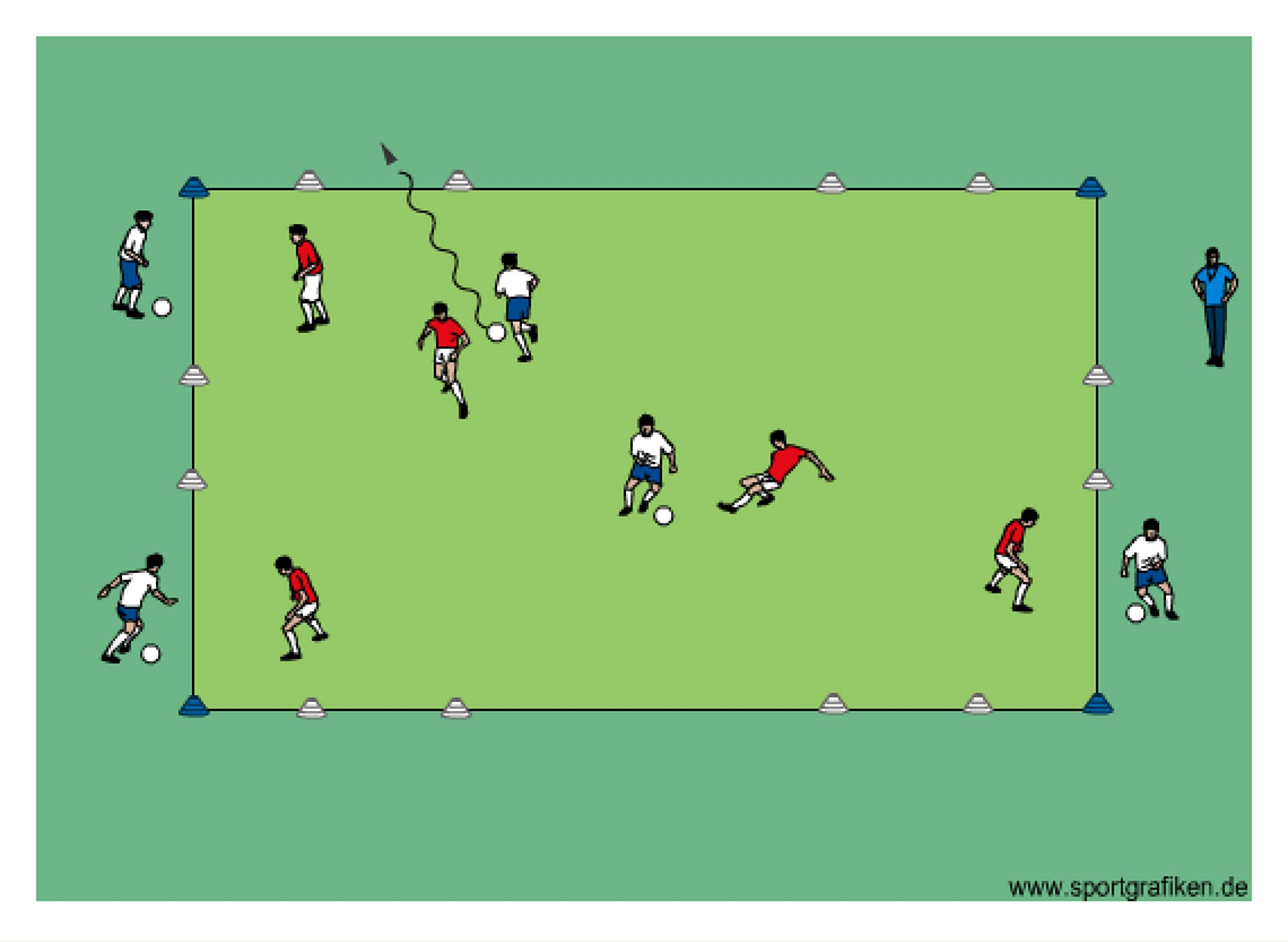 Pin By Free Soccer Drills On Dribbling Soccer Drills