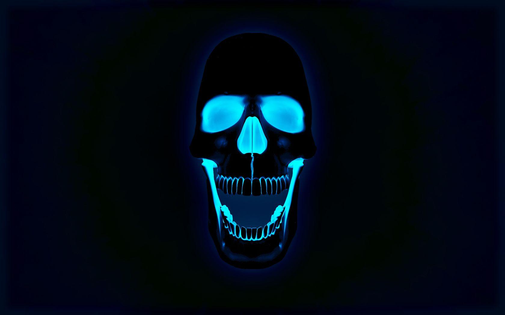 download skull wallpaper hd