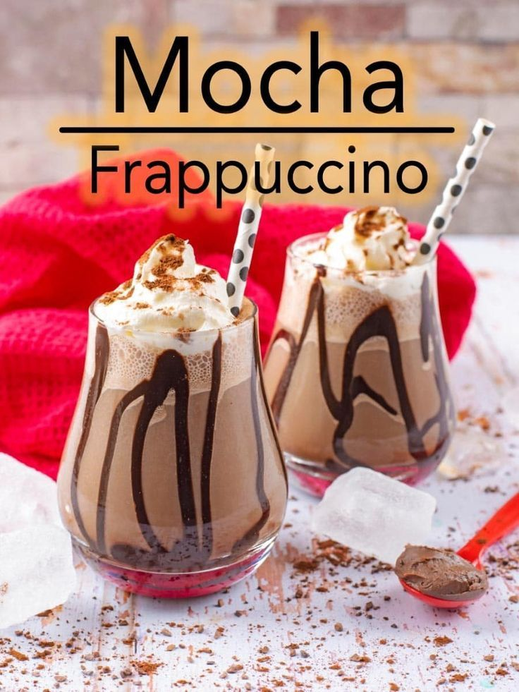Mocha Frappuccino by Hungry Healthy Happy - only 180 calories!