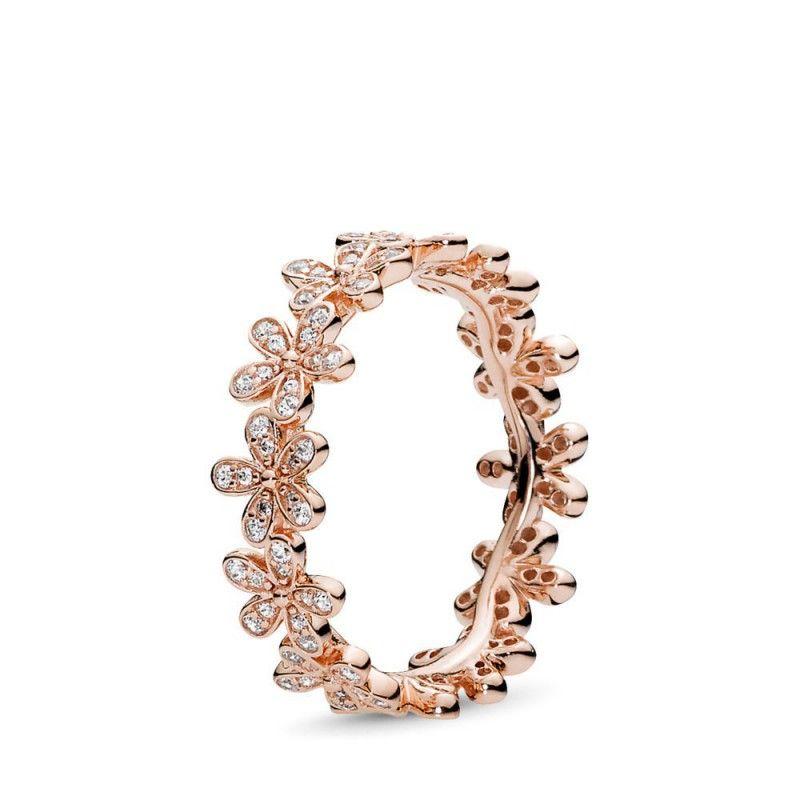 anello pandora oro rosa