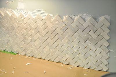 Best Tiling Our Backsplash Part 1 With Images Kitchen 400 x 300