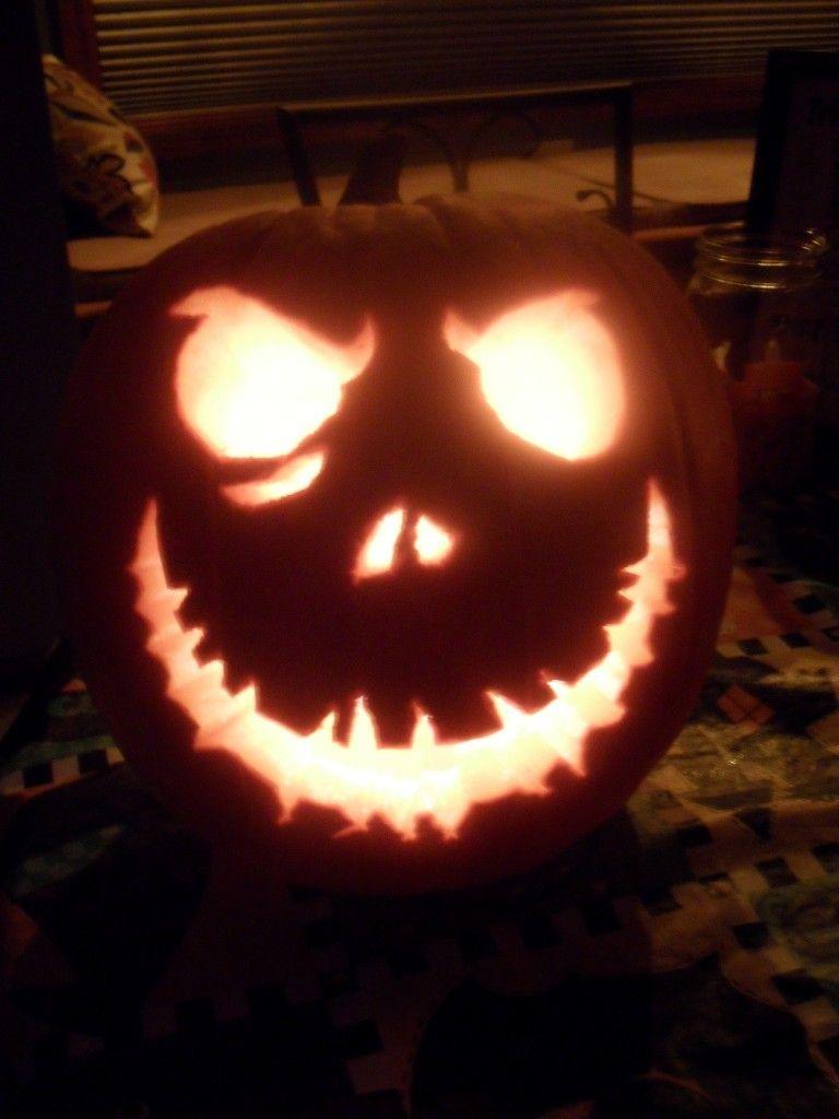 jack skellington pumpkin carving template easy halloween