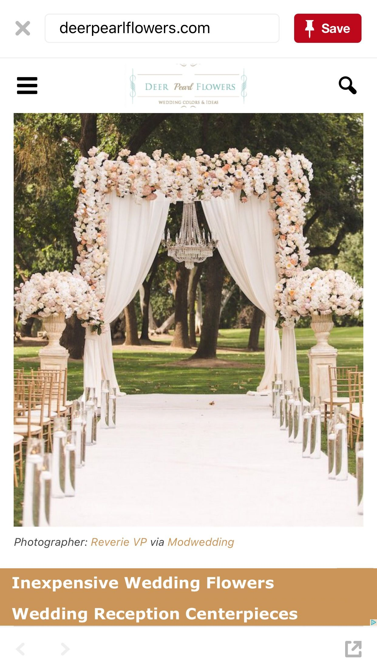 Wedding aisle decor ideas diy  Pin by Katie Porche on Outdoor wedding ceremony  Pinterest