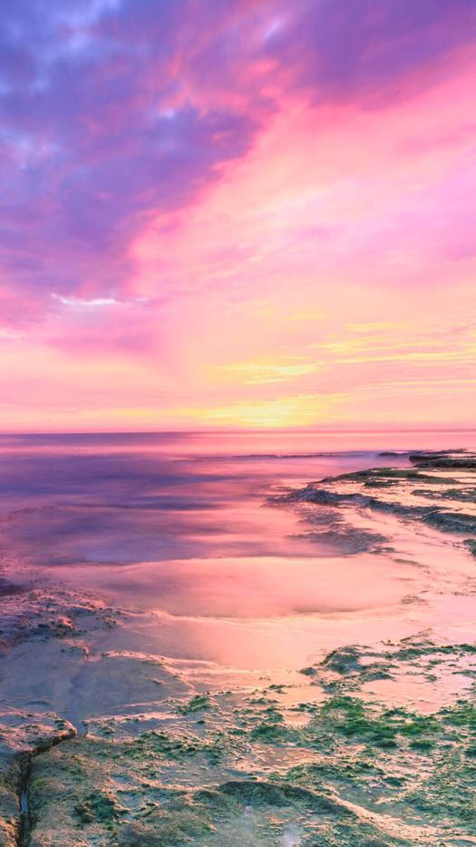 Beach Sunset iPhone Wallpaper Sunset iphone wallpaper