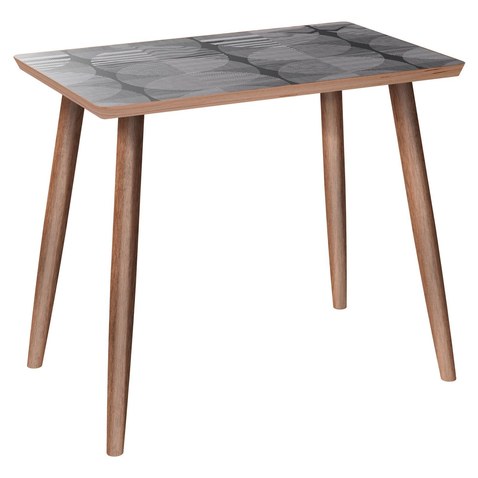 Nyekoncept Brixton Dowel Smokescreen Side Table Side Table Blue