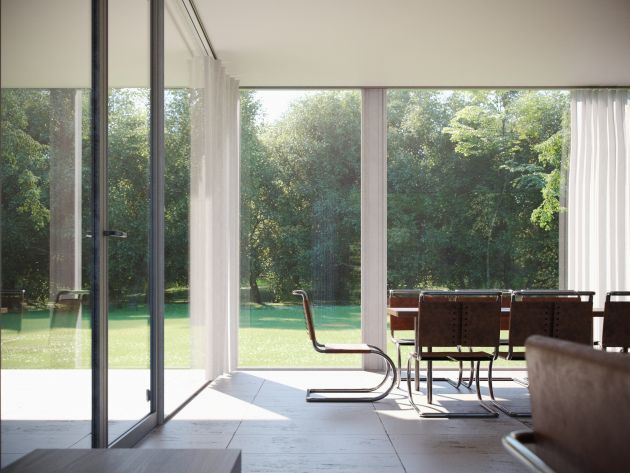 CGarchitect - Professional 3D Architectural Visualization User Community | Farnsworth House #3 Interior