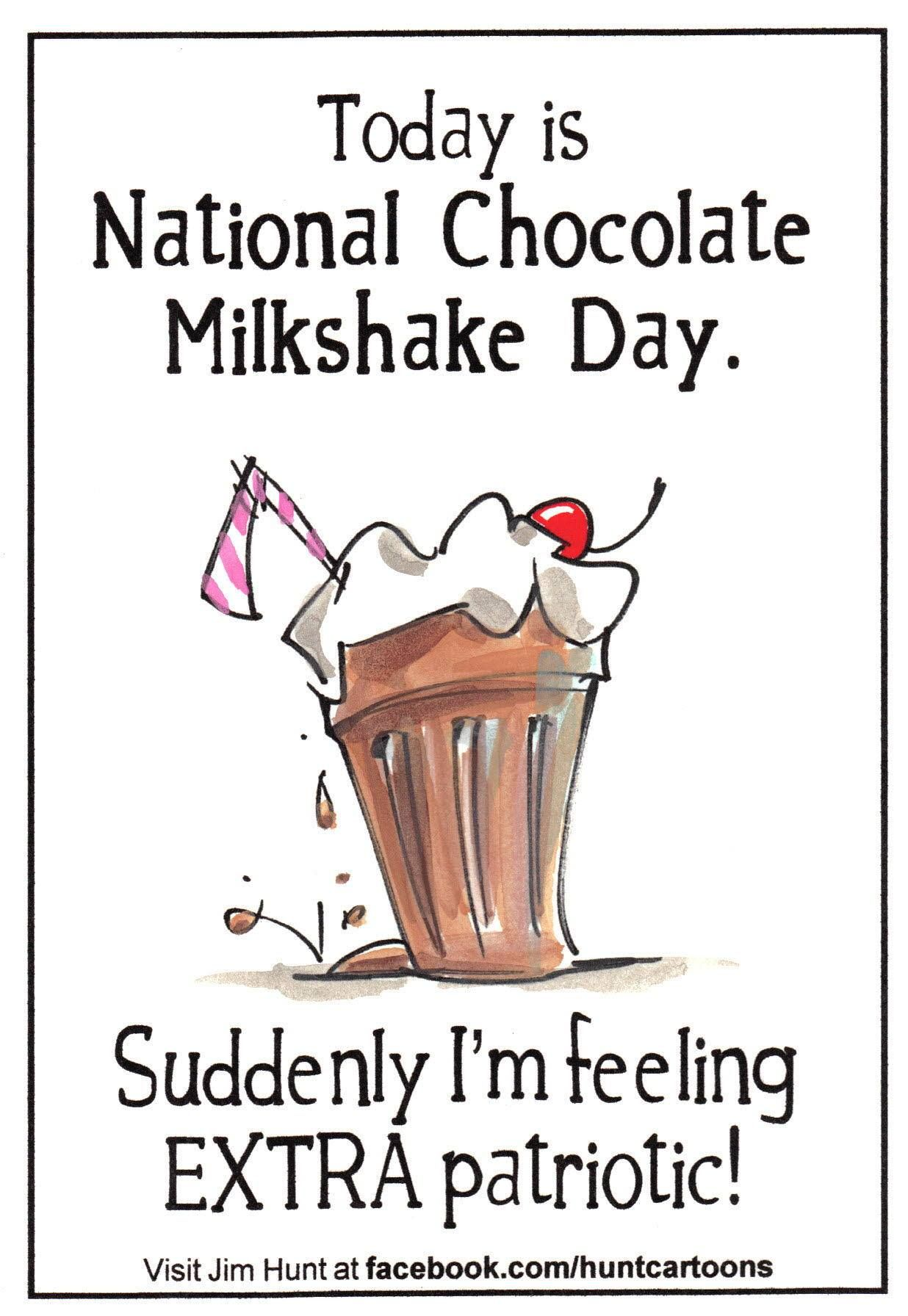National Chocolate Milkshake Day Sept 12 Chocolate Milkshake Milkshake National Milkshake Day