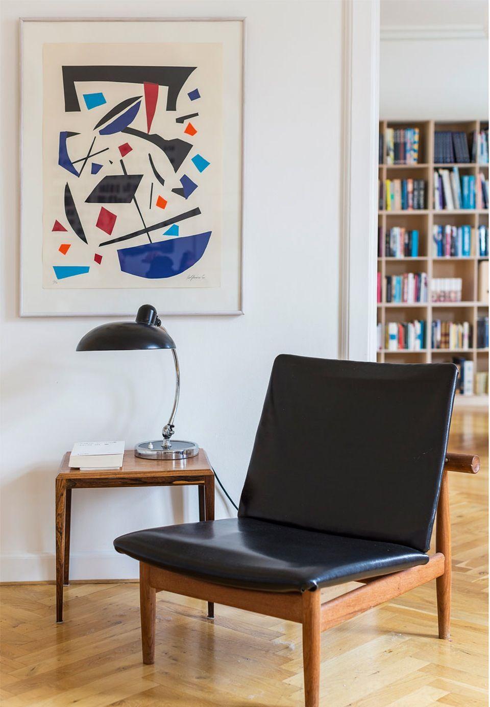 Anne Aarslandu0027s Artistic Apartment, Frederiksberg, Denmark
