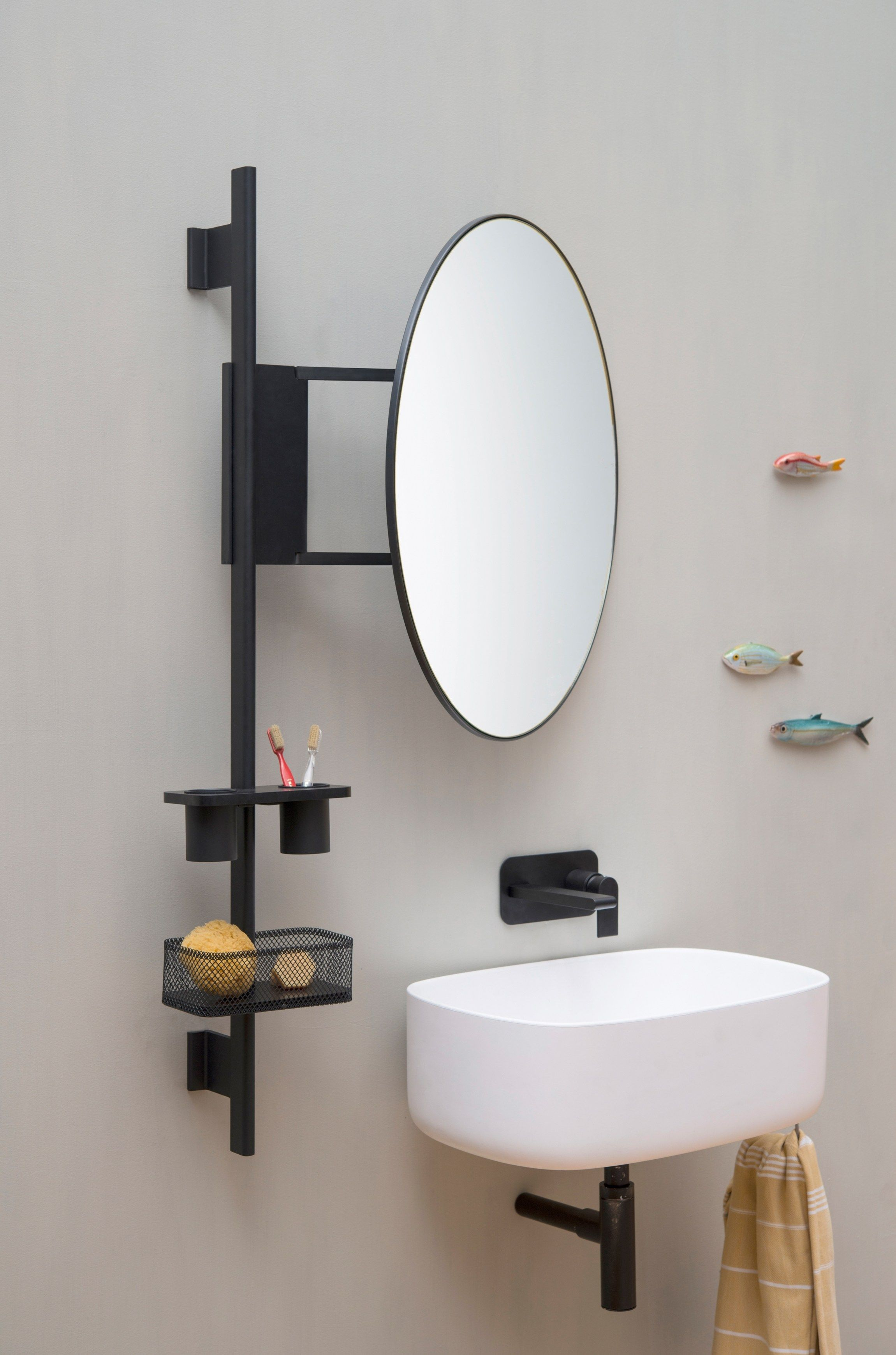 bathroom wall shelf prop ever by thermomat saniline