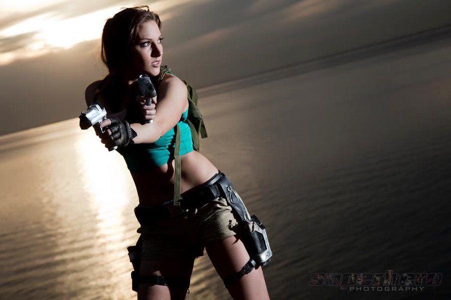 Lara Croft Tomb Raider: Beach 4 by JennCroft on DeviantArt