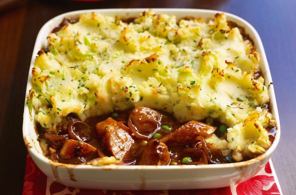 Sausage And Mash Bake | Dinner Recipes | GoodtoKnow