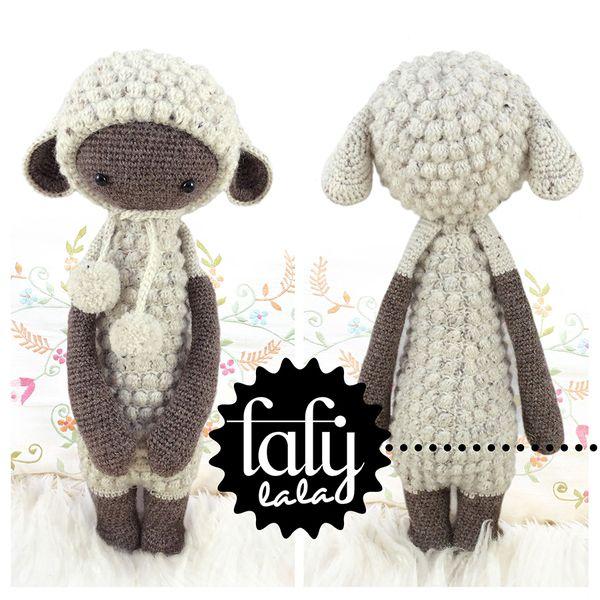 Oveja LUPO • lalylala patrón de crochet   Amigurumi patterns ...