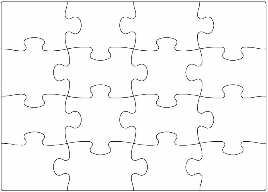 lege puzzelstukken - Google zoeken Kids Club Pinterest Math - puzzle piece template