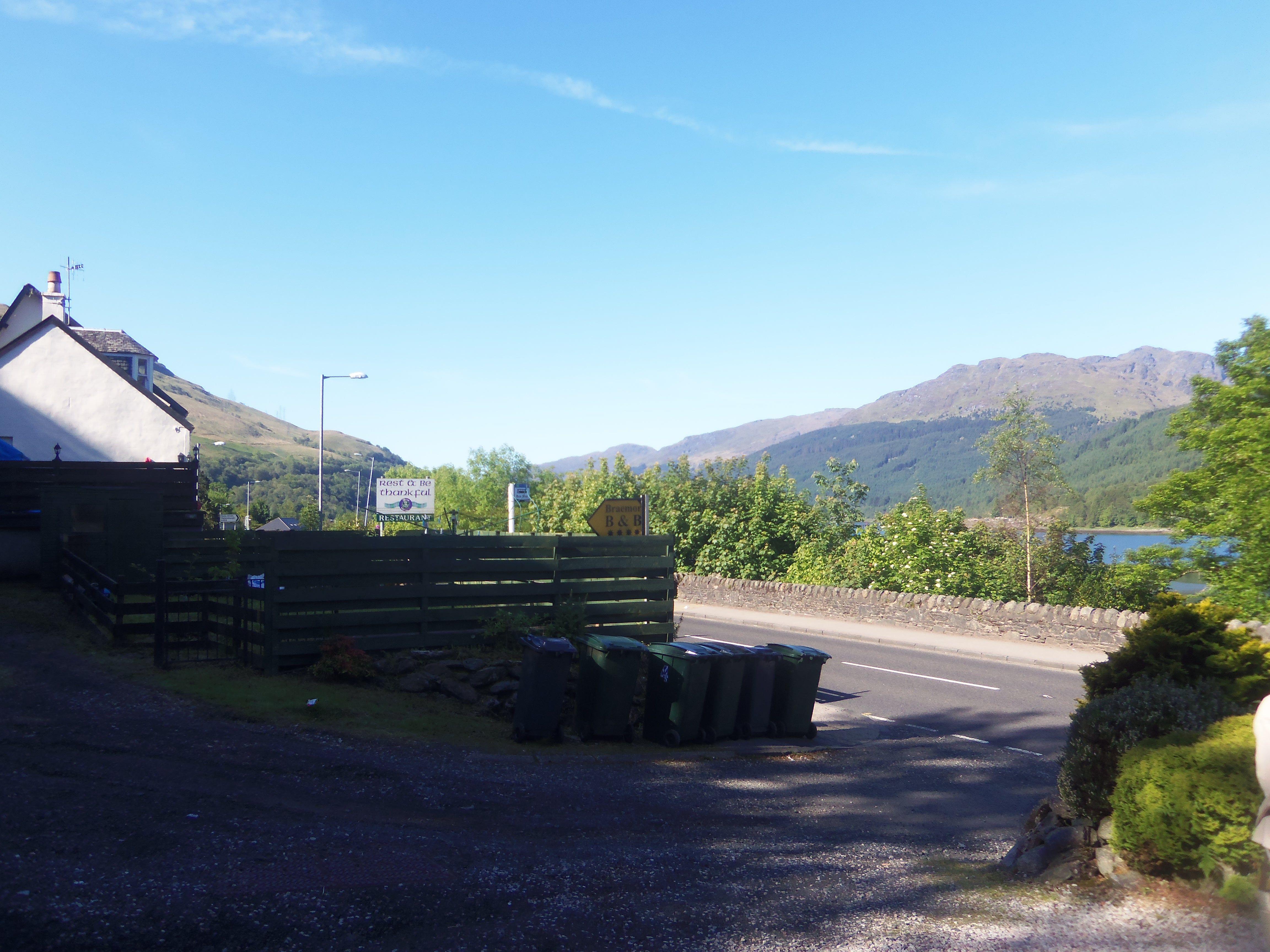 Loch Lomond area Scotland