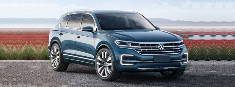 Look At The 2017 Volkswagen 3 Row Suv