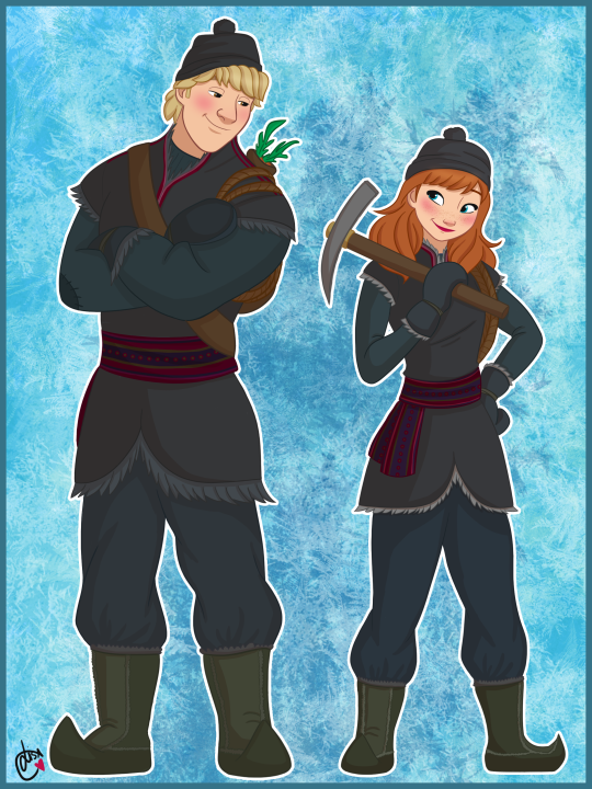 I love you, bay-beh  Time for an ice harvesting trip!  Inspired by this page because Anna in her ice harvesting gear is still the cutest thing i've ever seen.