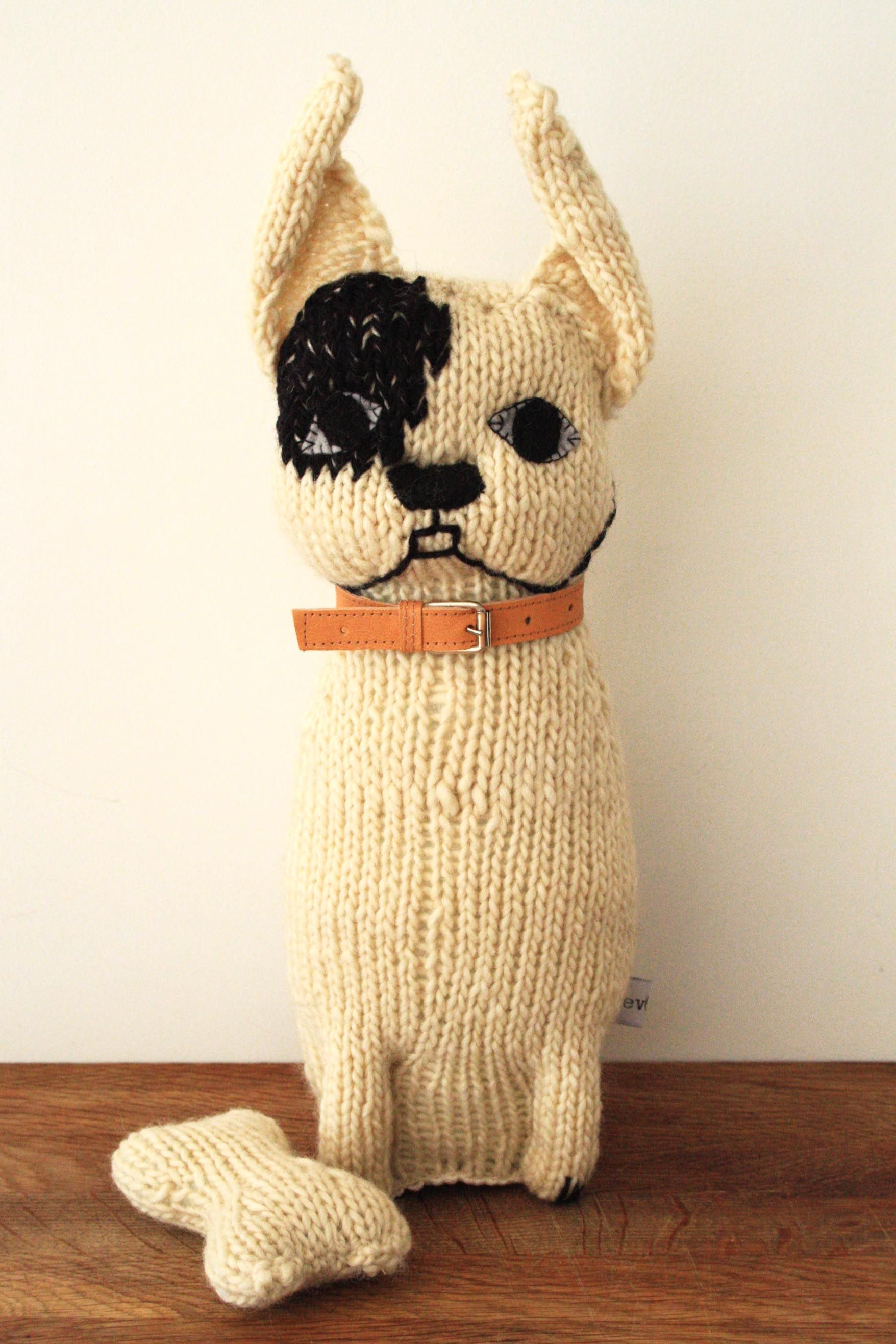Severina Kids NEW White Boston Terrier | Handmade toys i want/love ...