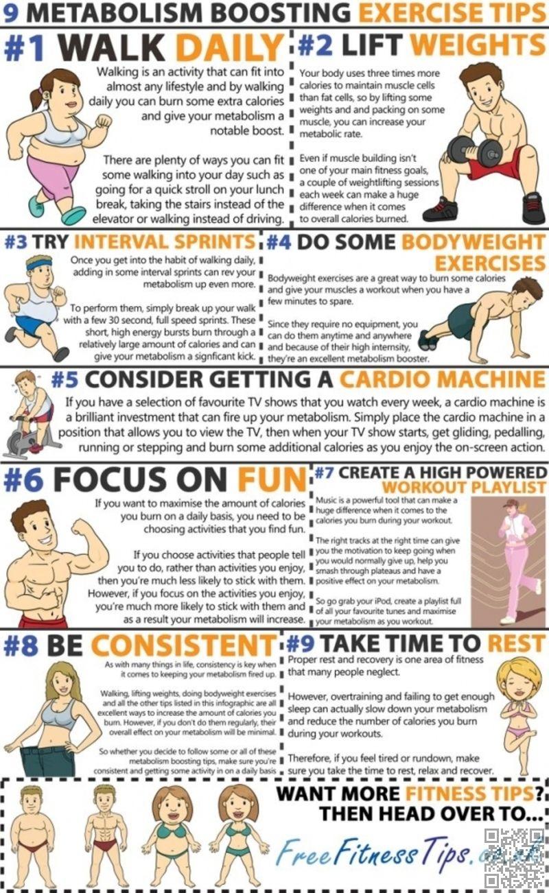 9. #Poussée que le métabolisme - 19 #meilleur exercice #..