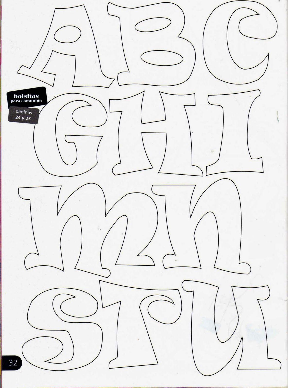 Letra N May 250 Scula Para Imprimir Recortar Colorear