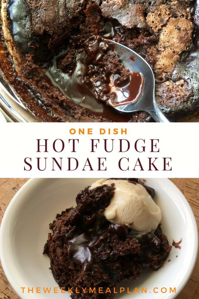 Hot fudge pudding cake iii recipe