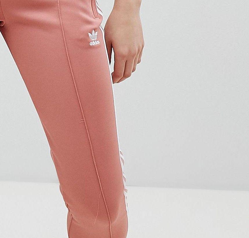 Cigarette Pants In Pink - Pink adidas Originals HMuJTGSNU