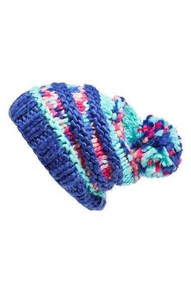 9168b2a4f64 The North Face  Nanny Knit  Beanie - Mint Blue   Tech Blue