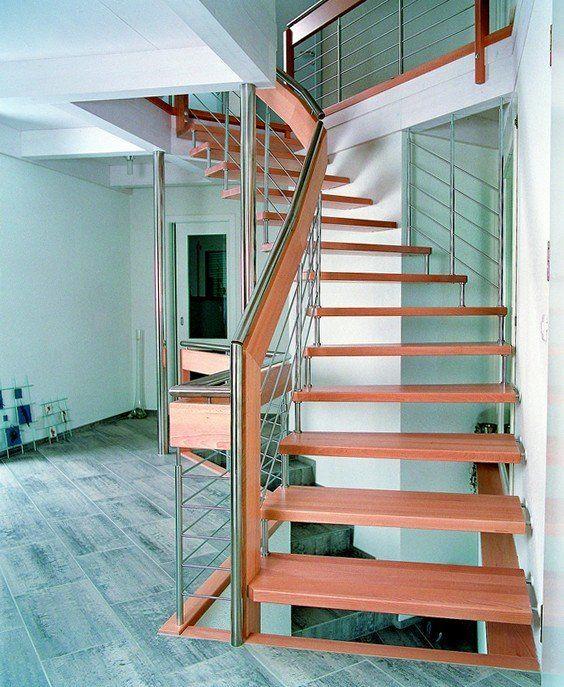 Best Escalier Suspendu Avec Main Courante Inox Supplémentaire 400 x 300