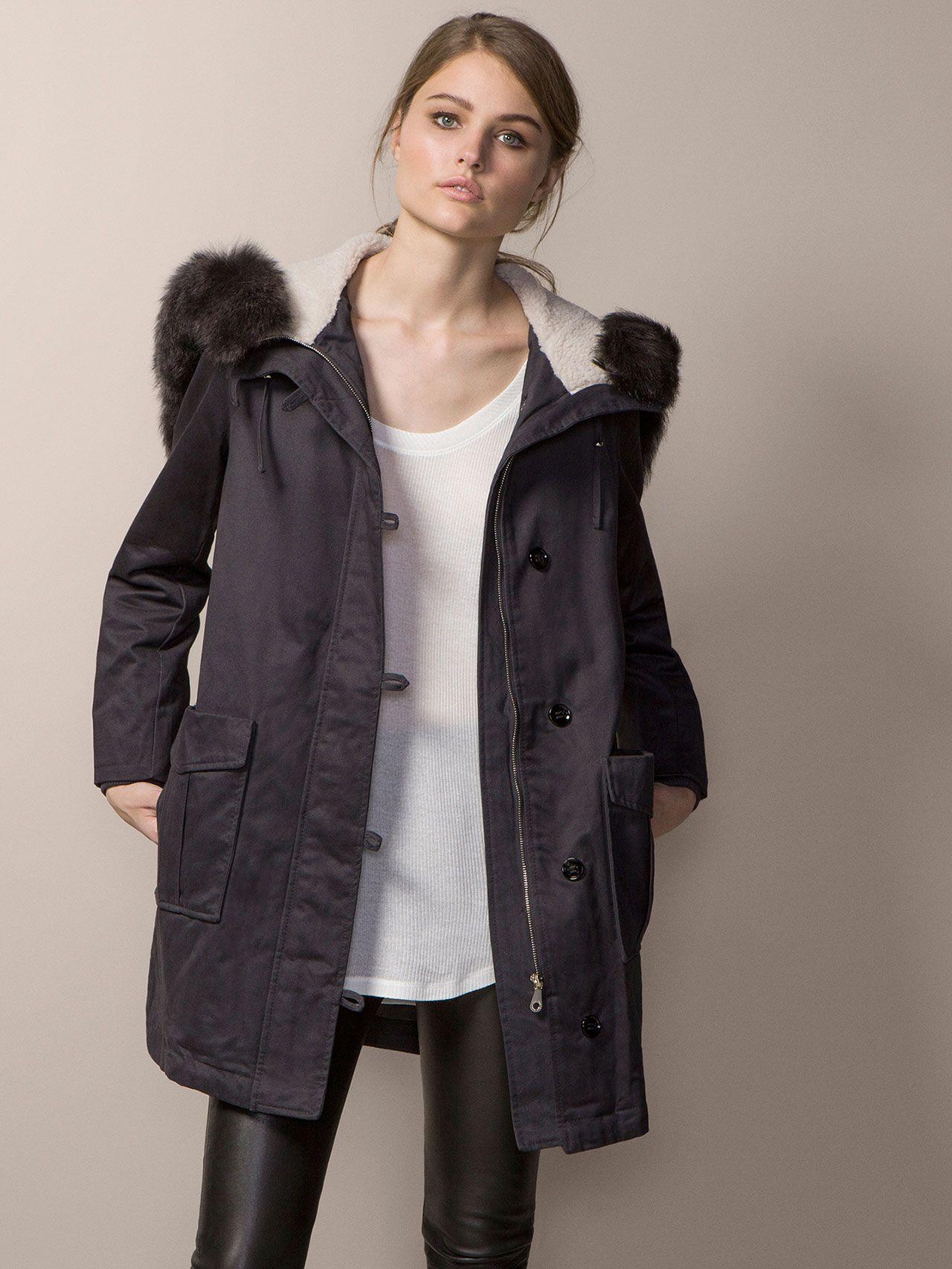 Chaqueta de invierno 2015 abrigo de invierno mujeres
